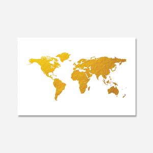 세계지도_골드